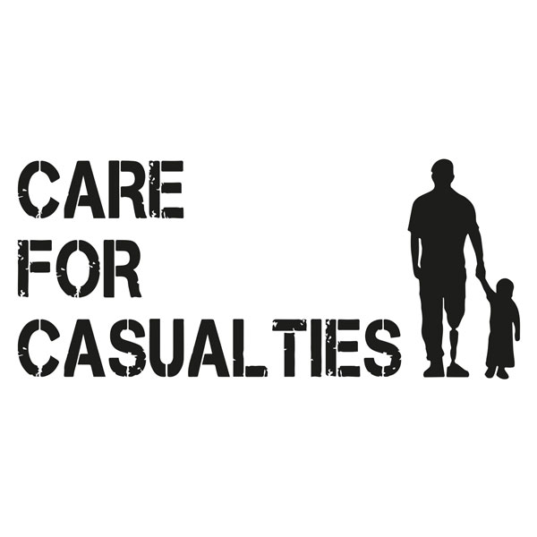 The Rifles Care for Casualties logo